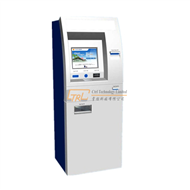 Free standing lobby type self service ticketing / payment kiosk